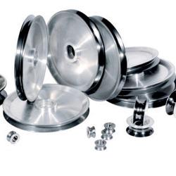luminum pulleys with ceramic coating
